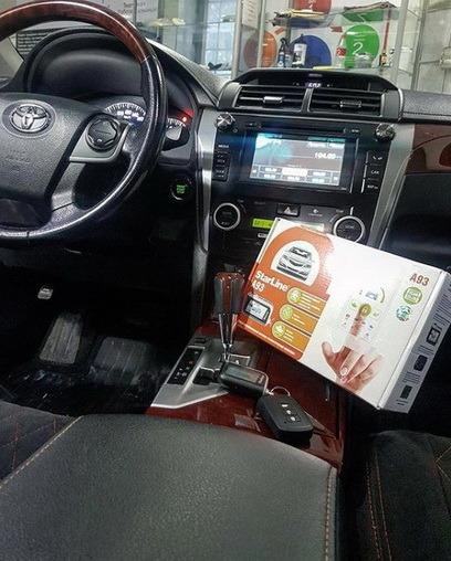 Сигнализация в авто