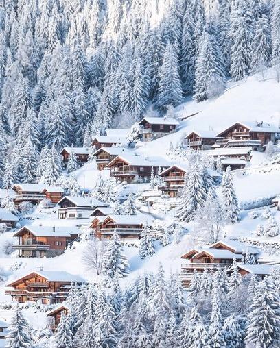 Курорт Verbier (Швейцария)